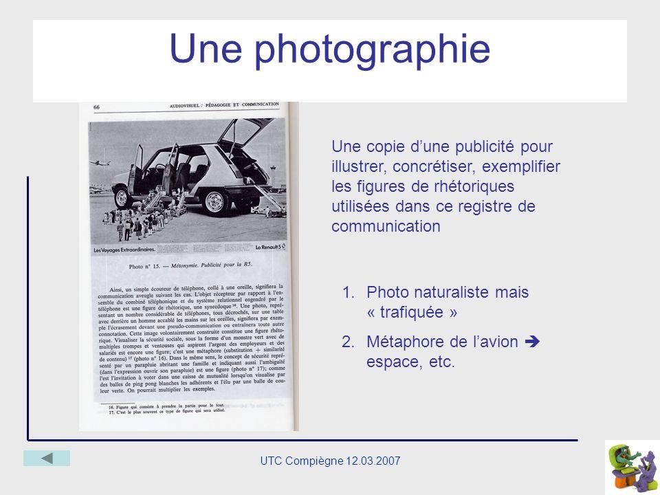 UTC Compiègne 12.03.2007 Les degrés, létendue des « objets » et des fonctions médiatiséés fonctions Un concept, une classe conceptuelle ou une simple