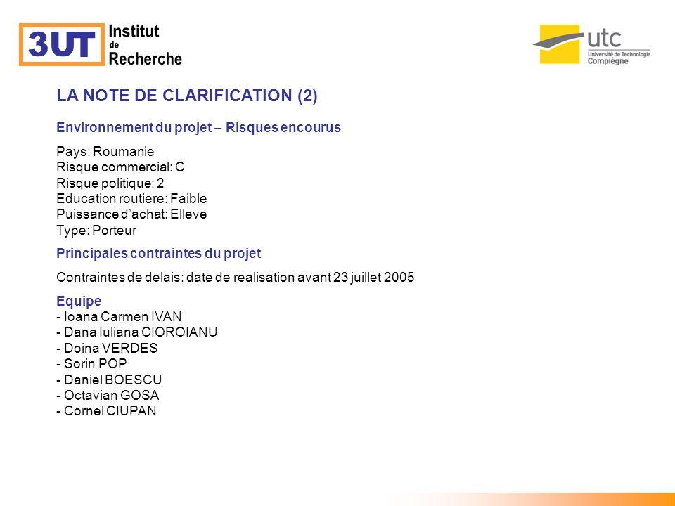 20.CHOIX DE LA SOLUTION 21.
