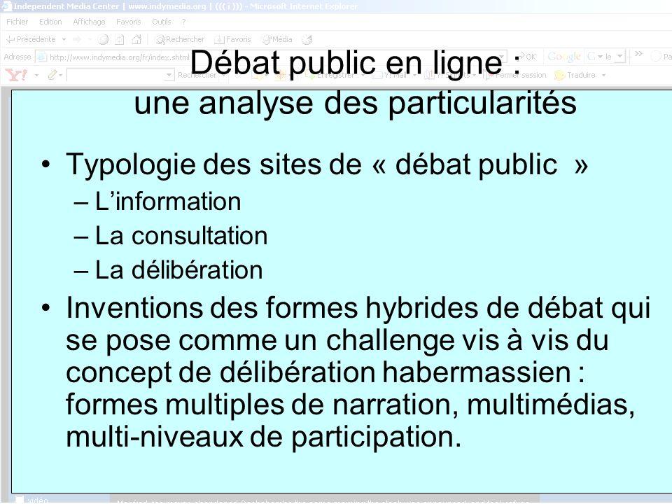 ASSUN, 8 février Supports et procédures de débat : première approche en termes de « contraintes » Le support numérique « dénaturalise » les formes de la participation.