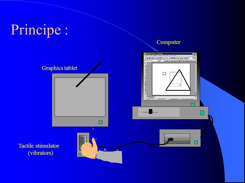 Croisements perceptifs prothétisés Les croisements perceptifs peuvent prendre des formes très variées suivant les médiations techniques des intéractions : téléphone, internet, RV, suppléance perceptive,… Les dispositifs techniques permettent une étude expérimentale dun croisement perceptif épuré.