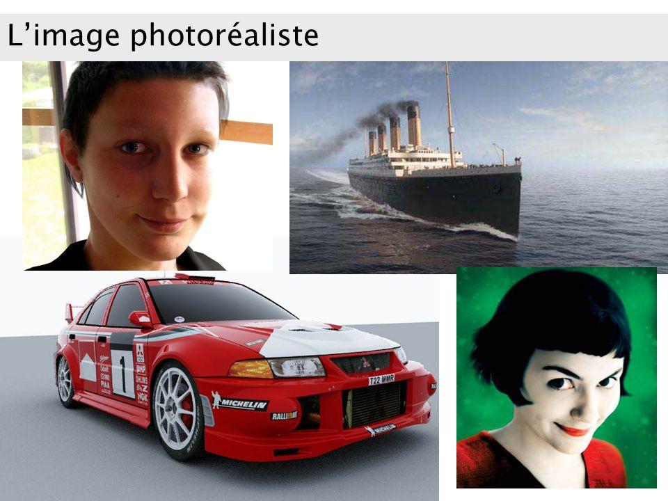 Limage photoréaliste