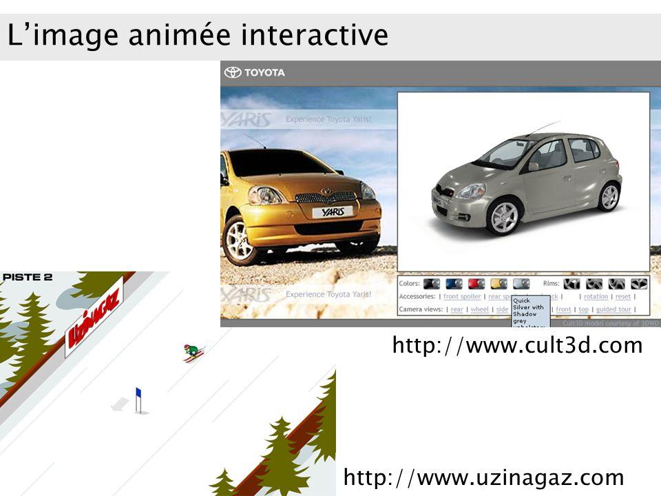 Limage animée interactive http://www.cult3d.com http://www.uzinagaz.com