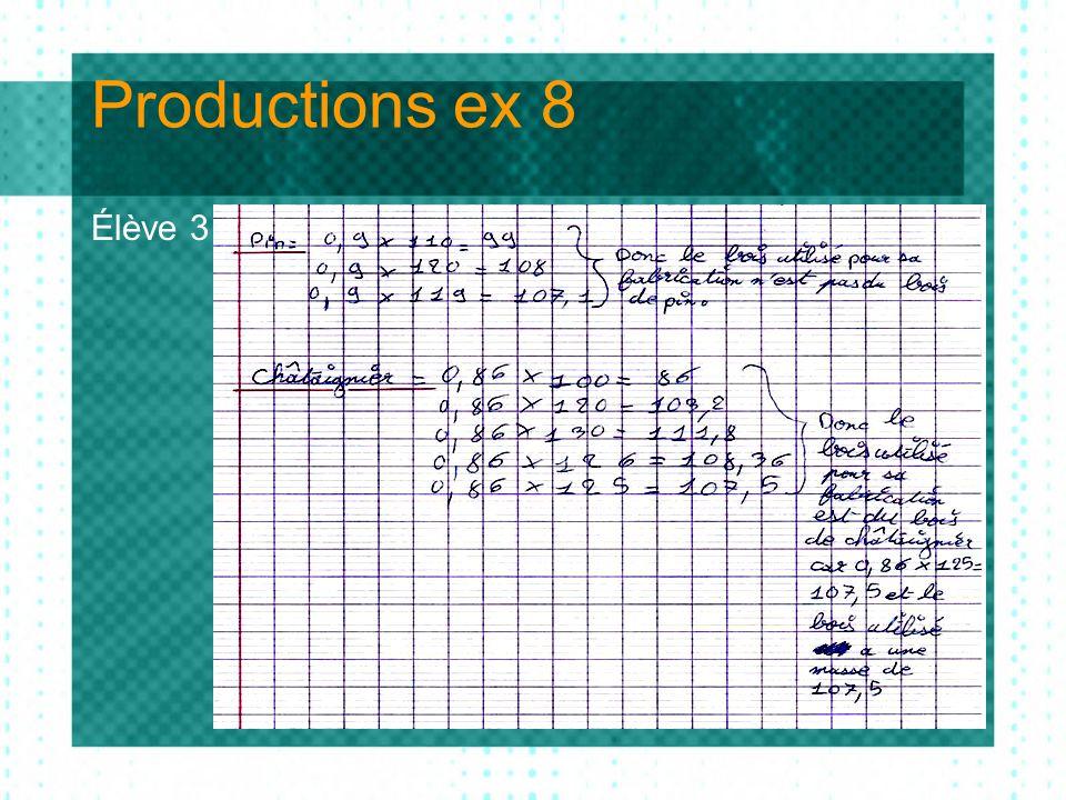 Productions ex 8 Élève 3