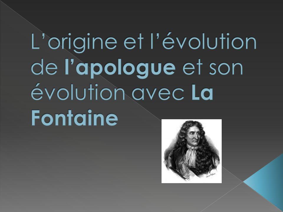 en grec : « apologos » « Apo » signifie détourner (dévier).