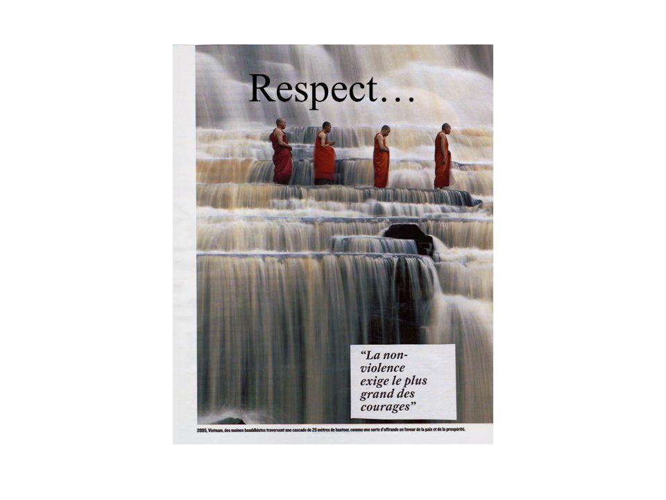 Respect…