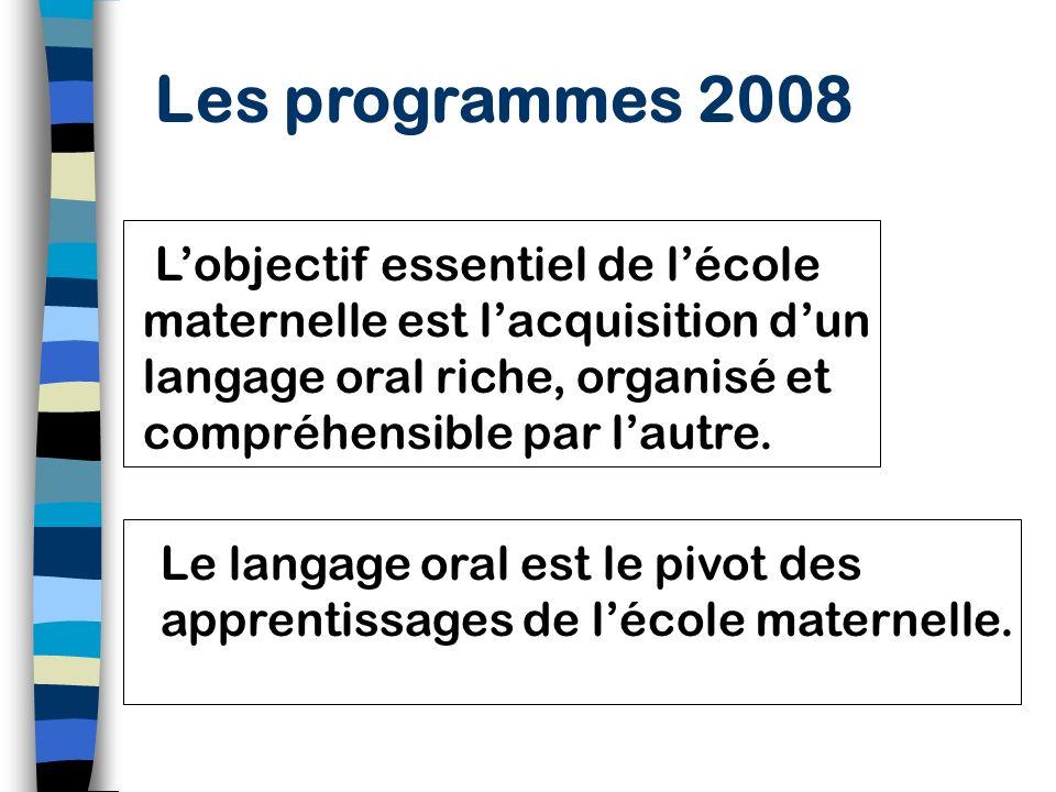Des repères relatifs au développement du langage 5/6 ansVocabulaire varié (extension des champs et variété des registres) Récits structurés; expressio