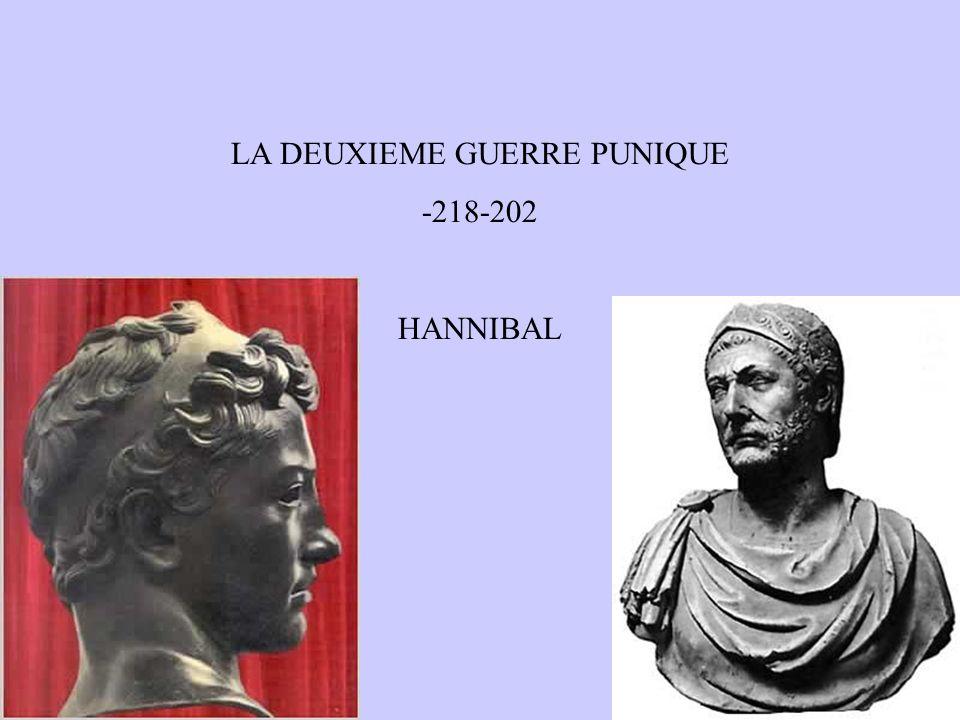 LA DEUXIEME GUERRE PUNIQUE -218-202 HANNIBAL