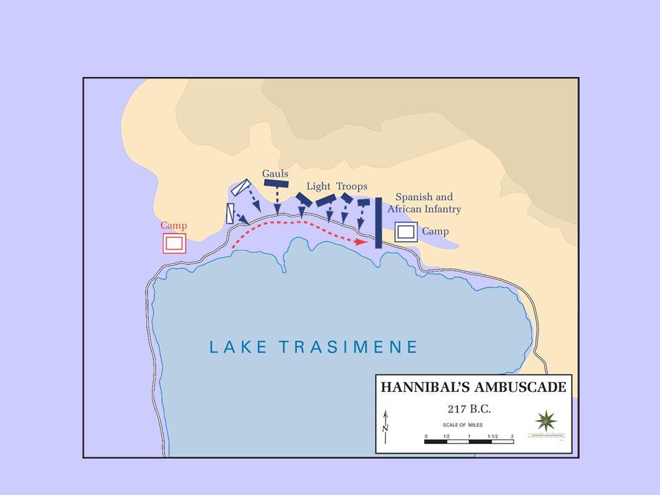 Victoires éclairs Hannibal arrive en Italie du Nord à lautomne -218.