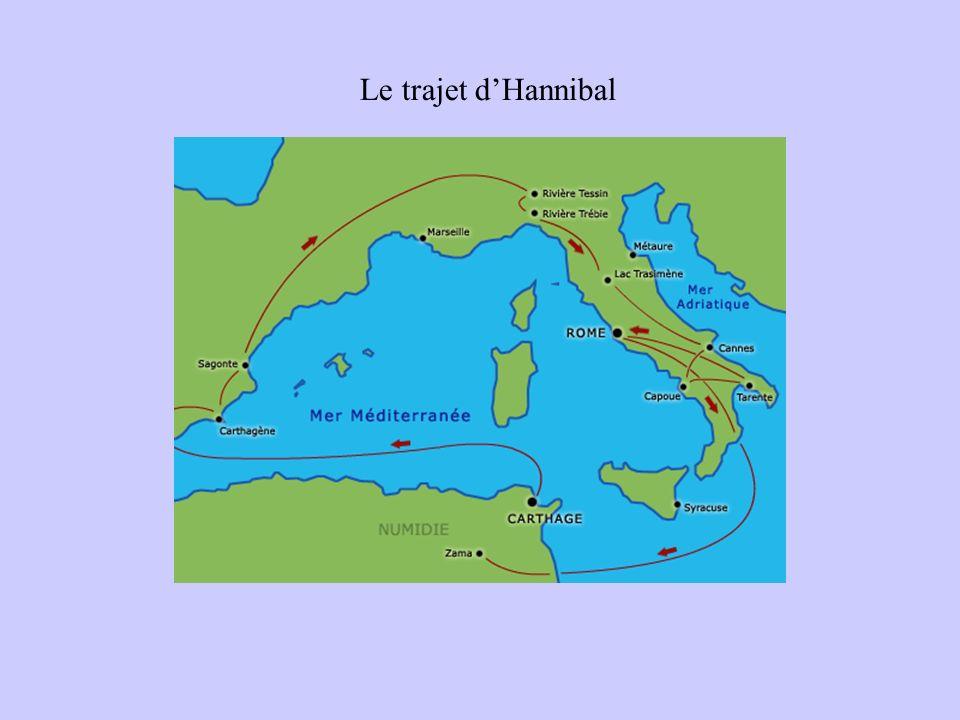Le trajet dHannibal