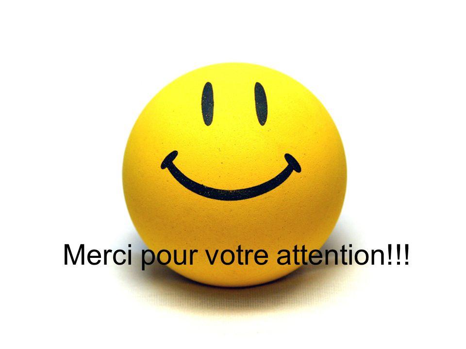 Merci pour votre attention!!!