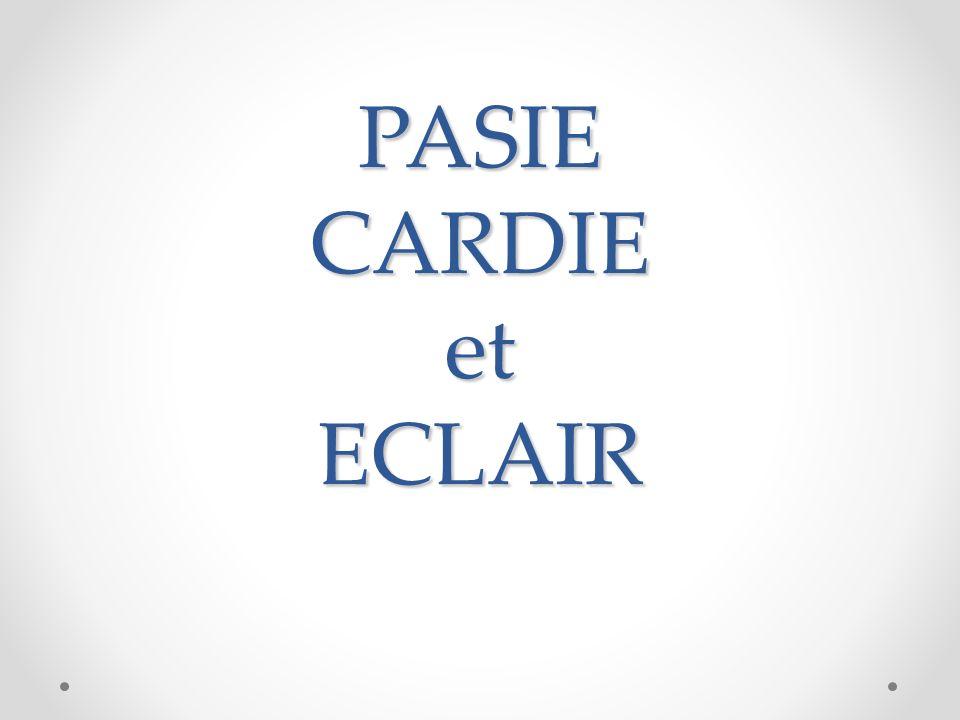 PASIE CARDIE et ECLAIR