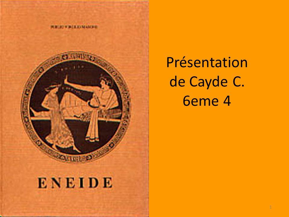 Présentation de Cayde C. 6eme 4 1