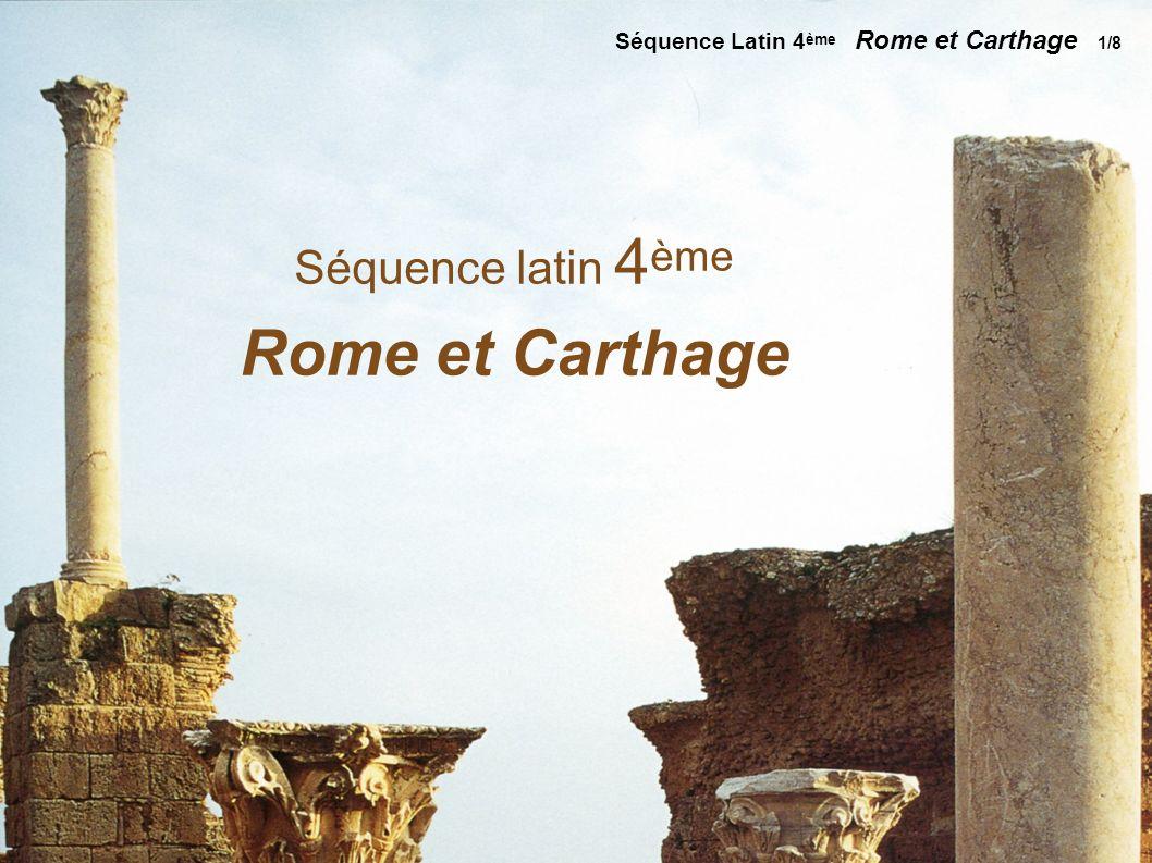 Séquence Latin 2nde La photographie comme synthèse d un savoir 4/9 Vue de Carthage avec Didon et Enée Le Lorrain