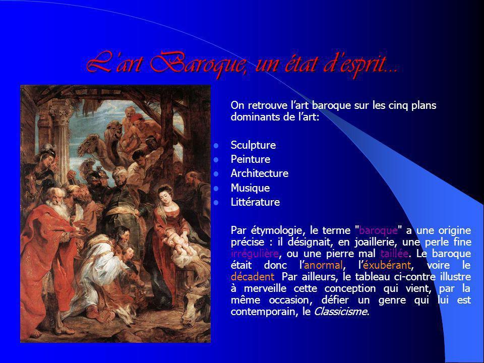Plan du Parcours 1. Définition de lart baroque 2. Mise en relation avec lœuvre 3. Analyse de passages sélectionnés