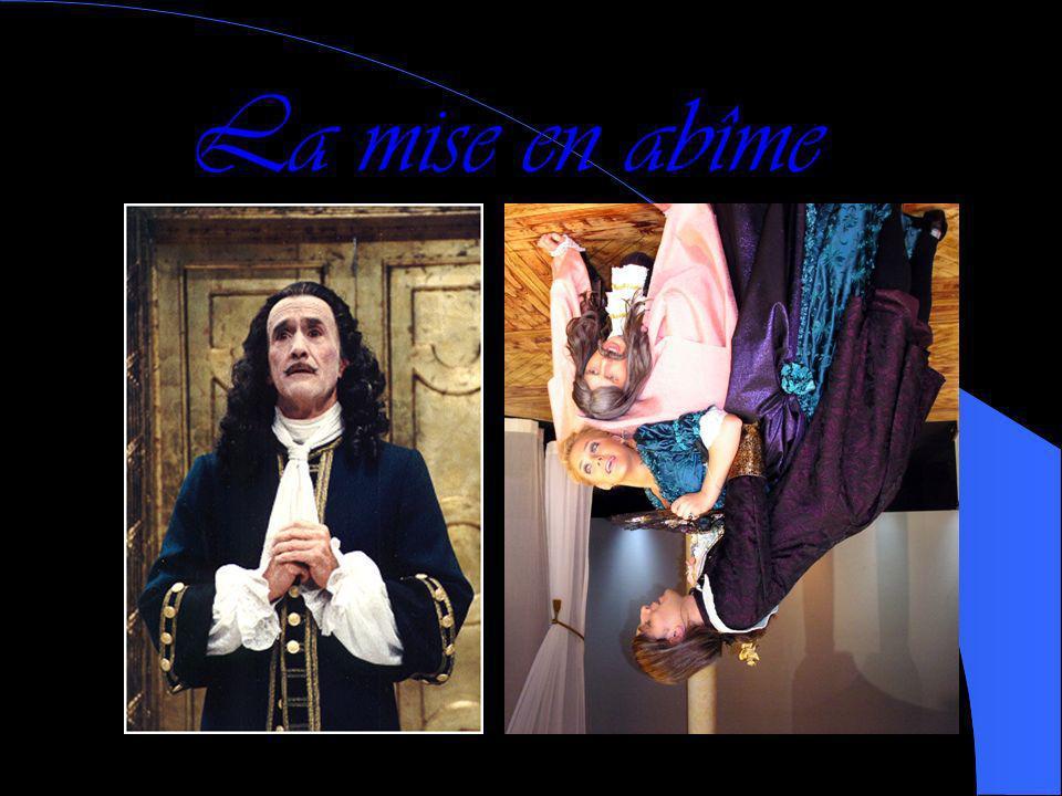 Mais aussi… Par ailleurs, Molière dépeint le Baroque avec les procédés suivants : La mise en abîme (le théâtre dans le théâtre) La sincérité au servic