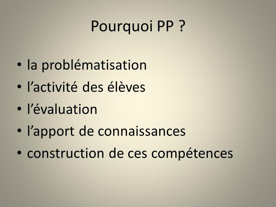 Pourquoi PP .