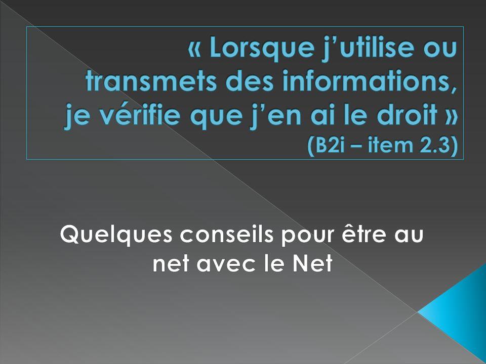 Consultez systématiquement les rubriques « mentions légales » ; « à propos », « qui sommes- nous », « copyright », « charte »...