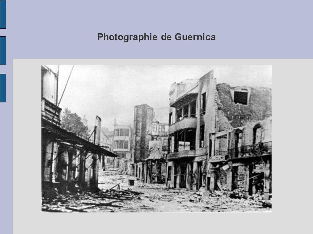 Photographie de Guernica