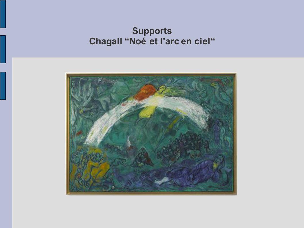 Supports Chagall Noé et l'arc en ciel