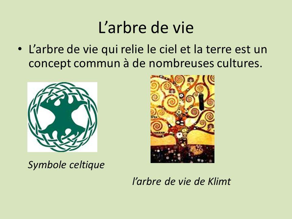 Larbre de vie Larbre de vie qui relie le ciel et la terre est un concept commun à de nombreuses cultures. Symbole celtique larbre de vie de Klimt