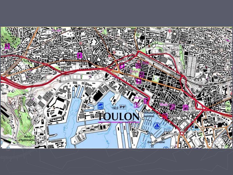 Exercice 2 Toulon : Des espaces aux fonctions différentes, de nouvelles centralités en périphérie 1/ Etudier les transformations récentes dun espace : la zone industrielle de Toulon-Est