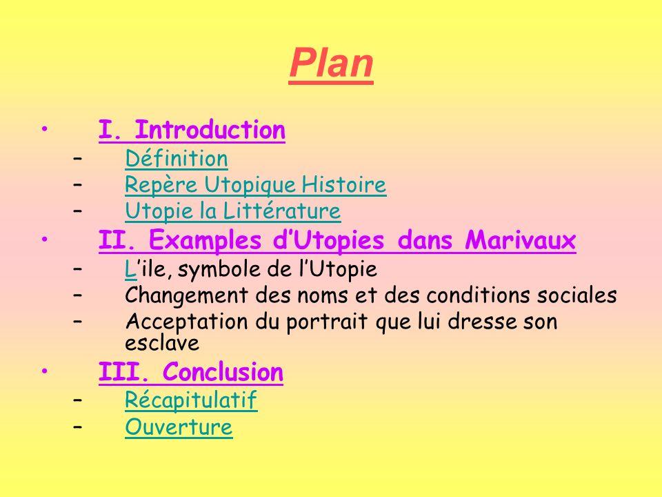 Plan I.