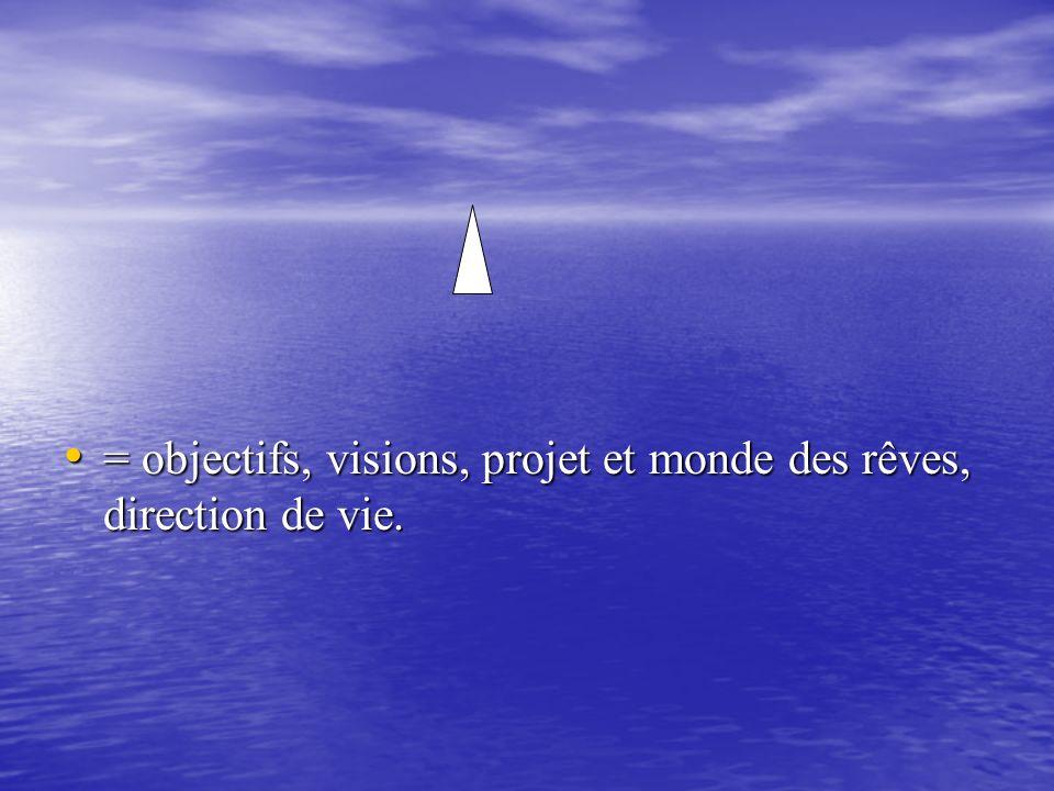 = objectifs, visions, projet et monde des rêves, direction de vie.