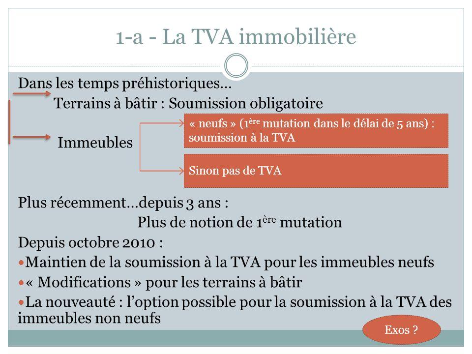 SOMMAIRE 1.Le « paquet TVA » a) Nouvelles règles de TVA immobilière b) Les prestations de services intracommunautaires (ou « la naissance de grosses c