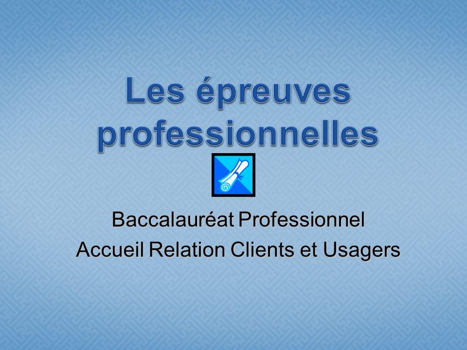 Baccalauréat Professionnel Accueil Relation Clients et Usagers