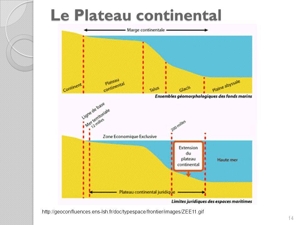 Le Plateau continental 14 http://geoconfluences.ens-lsh.fr/doc/typespace/frontier/images/ZEE11.gif