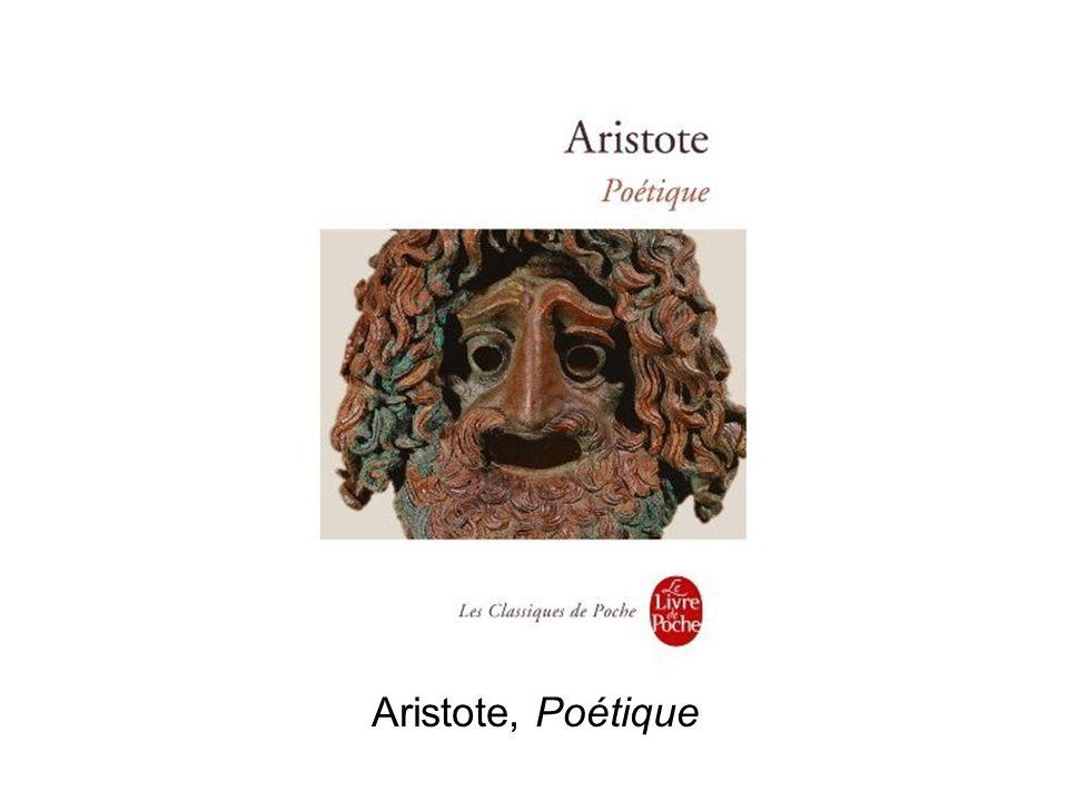 Aristote, Poétique