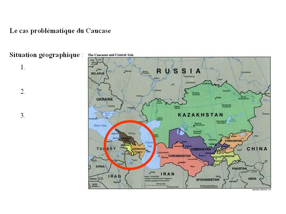 Montée des revendications territoriales et contestations des frontières. Trois cas de figures différents : 1 - PECO 2 - Ex-républiques soviétiques dev