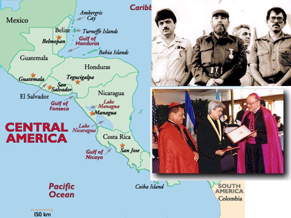 1986 : fuite de Duvalier, remplacé par junte militaire. Mais pressions US et de l ONU = élections libre en 1991 (élection d Aristide)