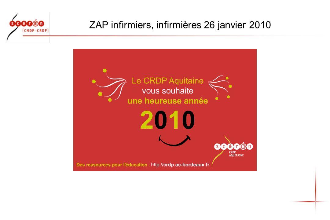 ZAP infirmiers, infirmières 26 janvier 2010