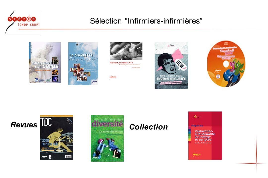Sélection Infirmiers-infirmières Revues Collection