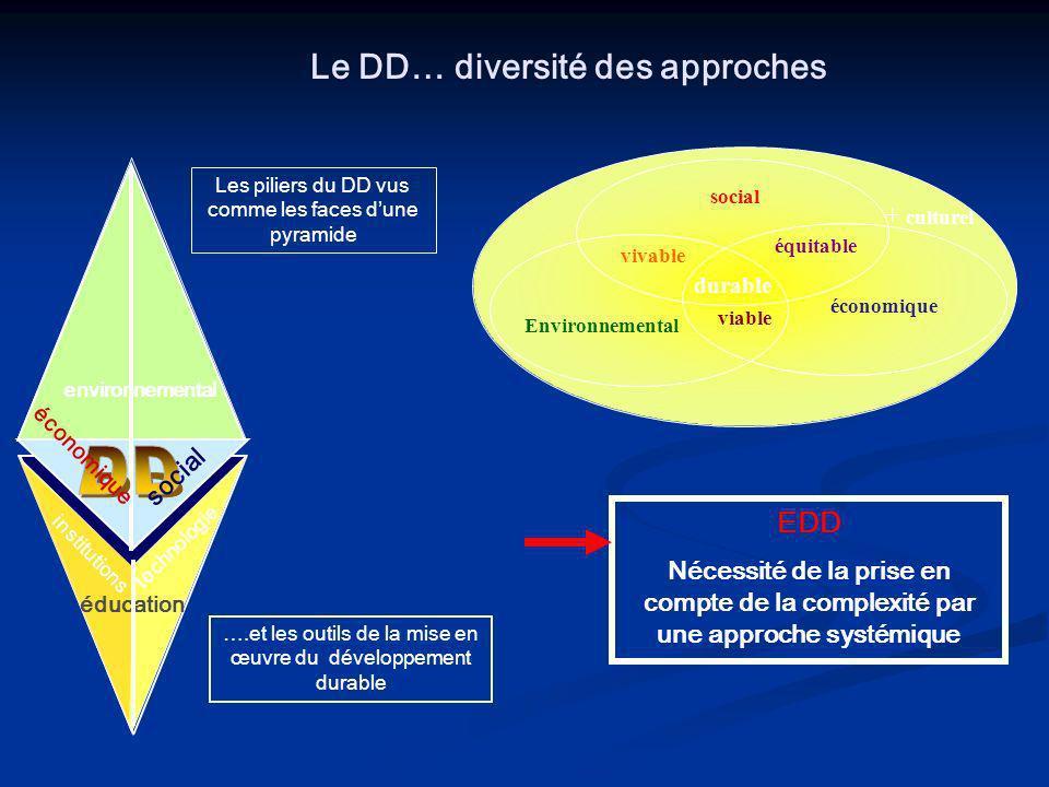 La prise en compte de la complexité (formation à l analyse des faits, des informations, formation à lesprit critique ) La prise en compte de la comple