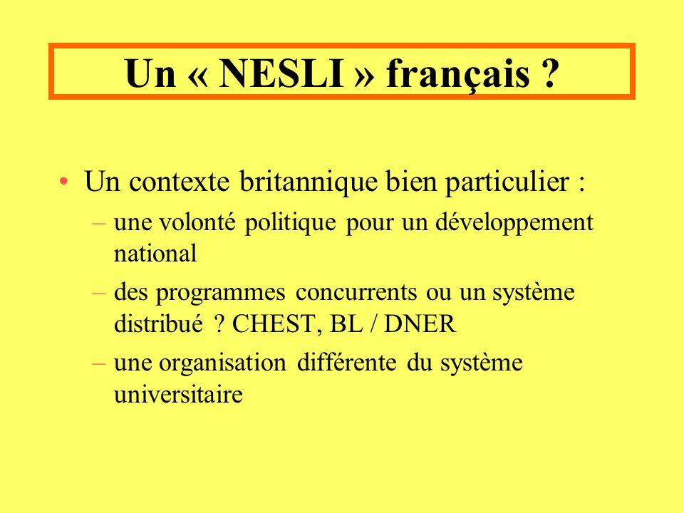 Un « NESLI » français .