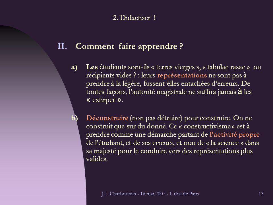 J.L. Charbonnier - 16 mai 2007 - Urfist de Paris13 2.