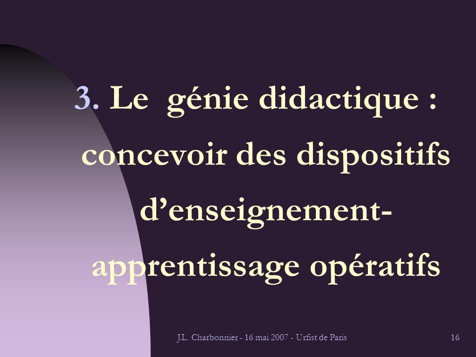 J.L.Charbonnier - 16 mai 2007 - Urfist de Paris16 3.