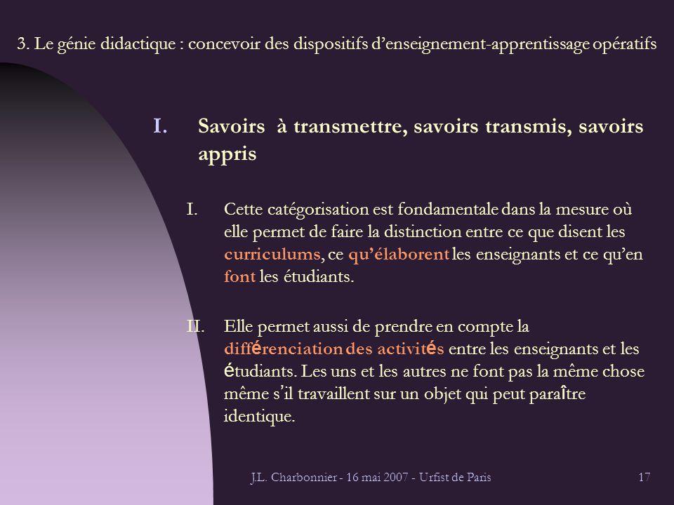 J.L. Charbonnier - 16 mai 2007 - Urfist de Paris17 3.