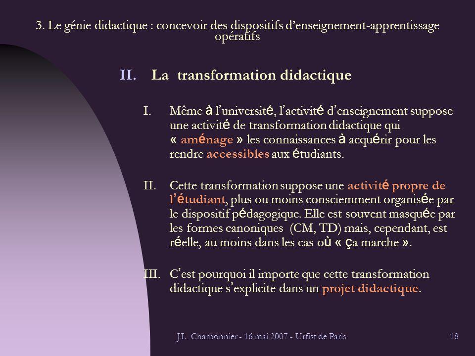 J.L. Charbonnier - 16 mai 2007 - Urfist de Paris18 3.