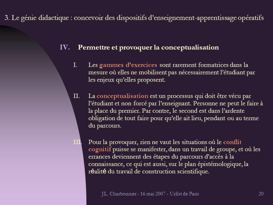 J.L. Charbonnier - 16 mai 2007 - Urfist de Paris20 3.
