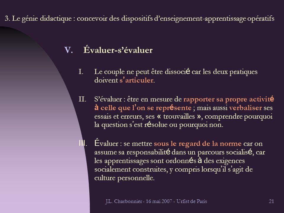 J.L. Charbonnier - 16 mai 2007 - Urfist de Paris21 3.
