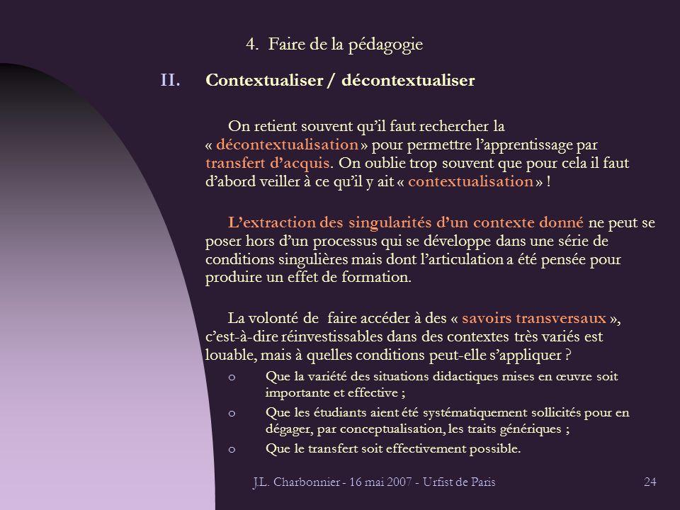 J.L. Charbonnier - 16 mai 2007 - Urfist de Paris24 4.