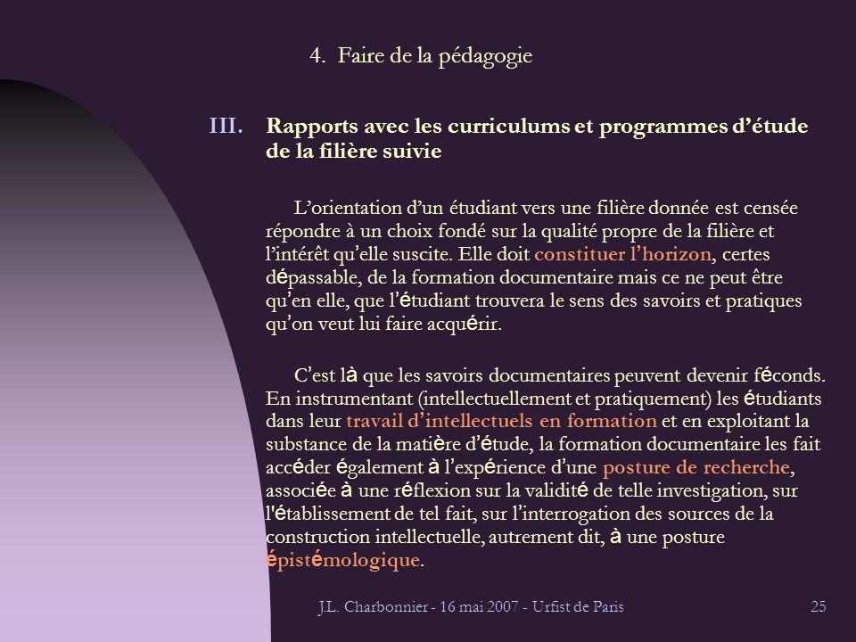 J.L. Charbonnier - 16 mai 2007 - Urfist de Paris25 4.