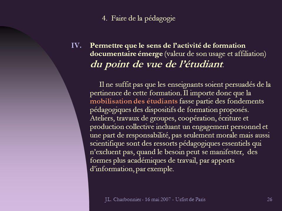 J.L. Charbonnier - 16 mai 2007 - Urfist de Paris26 4.