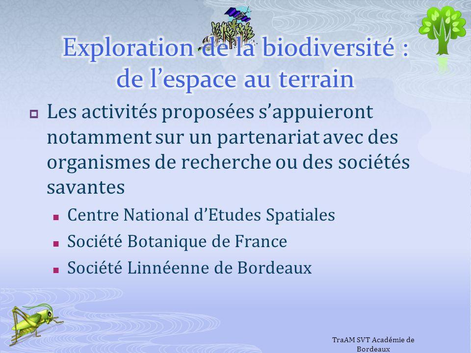 Les activités proposées sappuieront notamment sur un partenariat avec des organismes de recherche ou des sociétés savantes Centre National dEtudes Spa