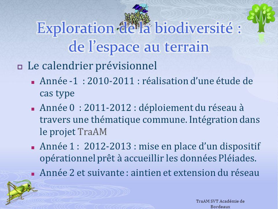 Le calendrier prévisionnel Année -1 : 2010-2011 : réalisation dune étude de cas type Année 0 : 2011-2012 : déploiement du réseau à travers une thémati