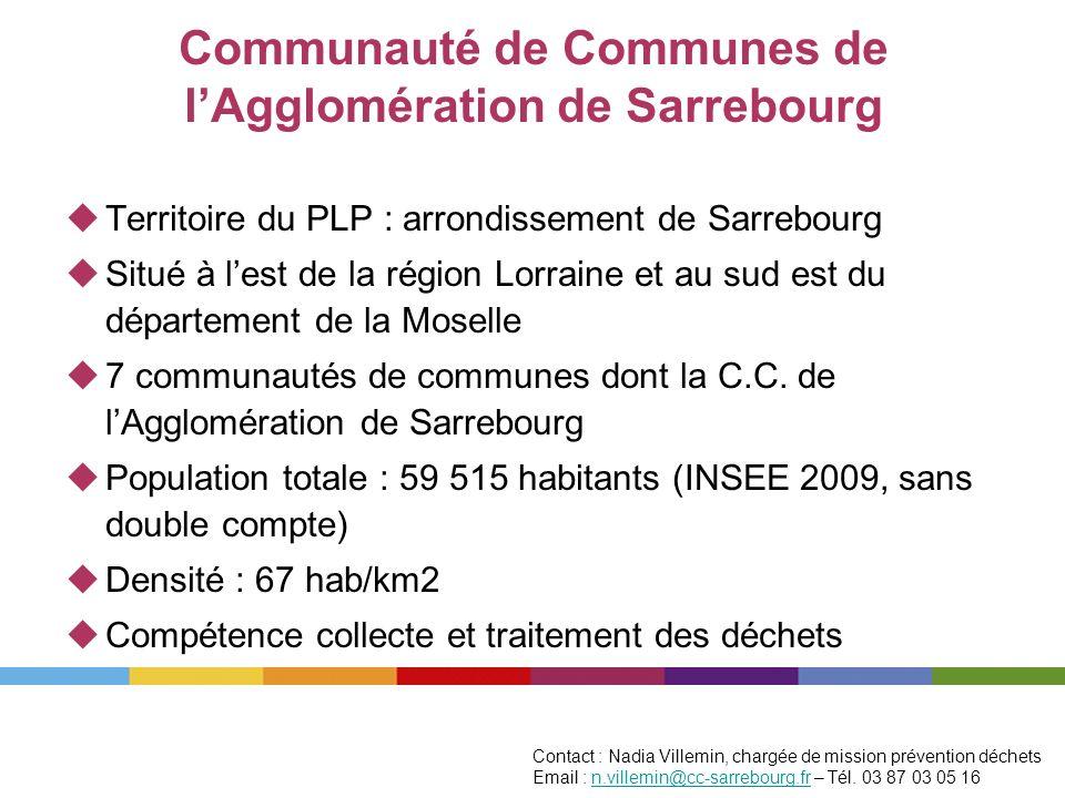 Communauté de Communes de lAgglomération de Sarrebourg Territoire du PLP : arrondissement de Sarrebourg Situé à lest de la région Lorraine et au sud e