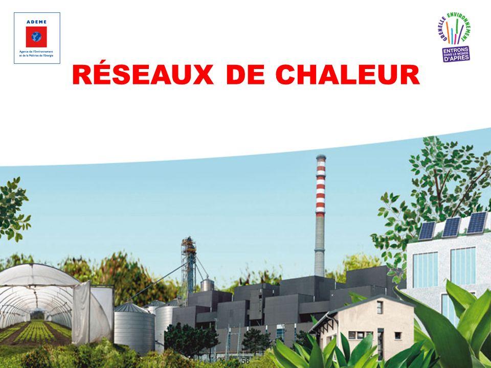 RÉSEAUX DE CHALEUR 56